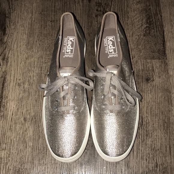 2e3e155558d Keds Shoes - Keds Triple Lurex Nylon Sneaker.